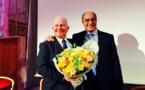 SNAV : JP Mas offre un bouquet de fleurs à Raoul Nabet (Live)