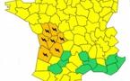 Orages : Météo France place 7 départements de l'Ouest en alerte orange