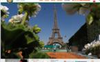 Paris : dans les coulisses de Roland Garros...