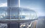 Angleterre : observez la ville de Brighton à bord d'une soucoupe