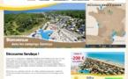 Camping : Sandaya démarre les offres spéciales CE pour la saison 2016