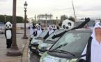 Sichuan : 6 smarts décorées et des mascottes pour promouvoir la destination à Paris