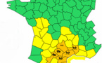 Vent et orages : 7 départements du Sud en alerte orange