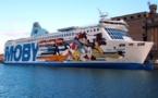 Nice - Bastia : Moby Lines de retour entre la France et la Corse