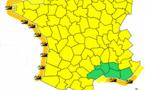 Vague-Submersion : 11 départements français en alerte orange