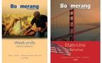 Boomerang : deux nouvelles brochures été, courts séjours et USA