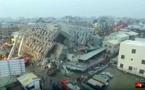 Taïwan : le tremblement de terre a fait au moins 18 morts