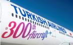 Turkish Airlines dispose désormais d'une flotte de 300 avions