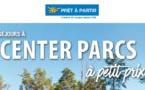 Center Parcs : réduction de 40 % dans le réseau Prêt à Partir