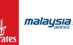 Malaysia Airlines et Emirates renforcent leur code-share
