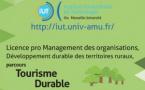 La Licence Pro Tourisme Durable à l'IUT Aix Marseille s'ouvre à l'alternance