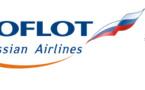 Aeroflot vole entre Lyon et Moscou