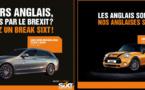Brexit : Sixt lance une campagne publicitaire humoristique