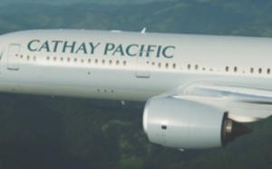 Cathay Pacific : nouvelle offre tarifaire APEX jusqu'au 30 septembre 2016