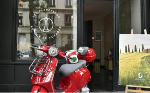 Challenge de ventes Donatello : l'agence Les Planeteurs remporte un scooter Vespa