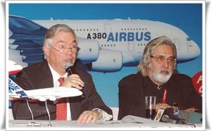 La compagnie indienne Kingfisher Airlines s'implante en Europe