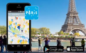 Paris : l'OTCP lance une nouvelle application, Welcome to Paris