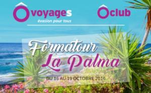 Canaries : Formatour Ôvoyages à La Palma du 16 au 19 octobre 2016