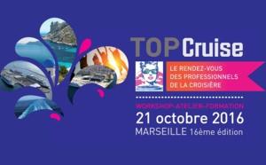Marseille : Top Cruise revient pour une 16e édition du 20 au 23 octobre 2016