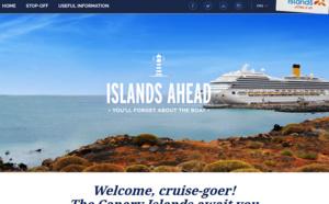 Les Iles Canaries lancent un site pour les passagers croisières