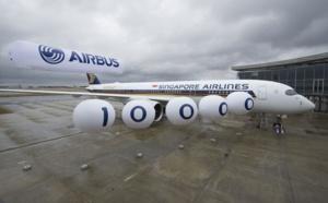 Airbus livre son 10 000ème appareil à Singapore Airlines