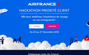 Air France : un Hackathon de 48h pour améliorer l'expérience voyage en cas d'irrégularité