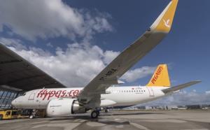 Pegasus Airlines : 18,08 millions de passagers (+7,4 %) de janvier à septembre 2016