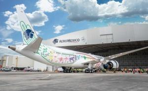 Quetzlcoatl : Aeromexico présente son premier B787-9 Dreamliner