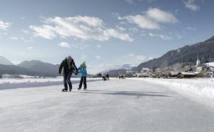 Sports d'hiver : sur la glace en Autriche…