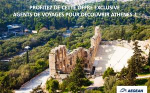Aegean Airlines : promo spéciale AGV au départ de Paris, Lyon et Marseille