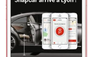 VTC : SnapCar roule vers Lyon