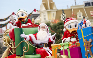 Celebrate Christmas at Disneyland Paris up to January 8th