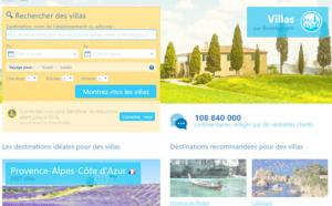 Booking.com rapatrie l'offre de Villas.com vers son site principal