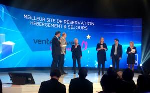 """Nuit des Favor'i : Vente-privée élu """"meilleur site de réservation d'hébergement et séjour"""""""