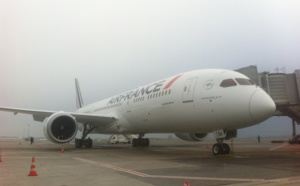Air France : le 1er B787 Dreamliner atterrit... Trust Together décolle !