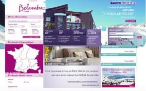Belambra lance une nouvelle version de son site internet