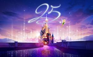 Disneyland Paris : des promotions pour les groupes et les CE pour le 25e anniversaire du parc
