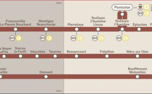 Île-de-France : fortes perturbations sur la ligne H du Transilien