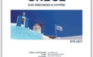 """Héliades édite sa nouvelle brochure """"Grèce et Chypre 2017"""""""