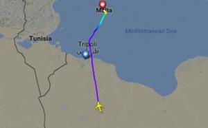Malte : un A320 libyen détourné par un pirate de l'air