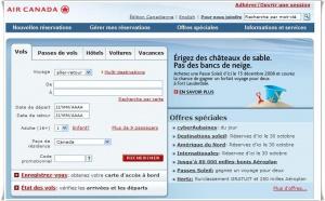 GDS : Air Canada vend 70% de sa billetterie sur le web