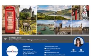 Royaume-Uni : Hotels & More rejoint les réceptifs de DMCMag.com
