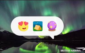 British Airways mise sur l'émotion de ses clients grâce aux emojis