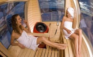 La Finlande inaugure le 1er sauna en télécabine au monde