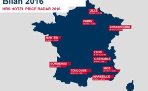 Tarifs hôteliers : la province s'en sort bien mieux que Paris en 2016