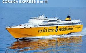 Corsica Ferries : hausse du nombre de traversées en juillet/août 2009