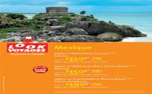 Look Voyages s'affiche chez Leclerc Voyages et Havas Voyages