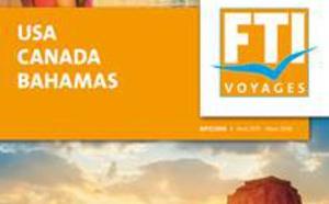 FTI Voyages sort une brochure dédiée à l'Amérique du Nord