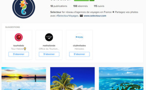 Selectour se lance sur Instagram