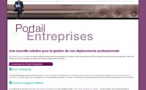 SNCF : le Portail Entreprises est en ligne